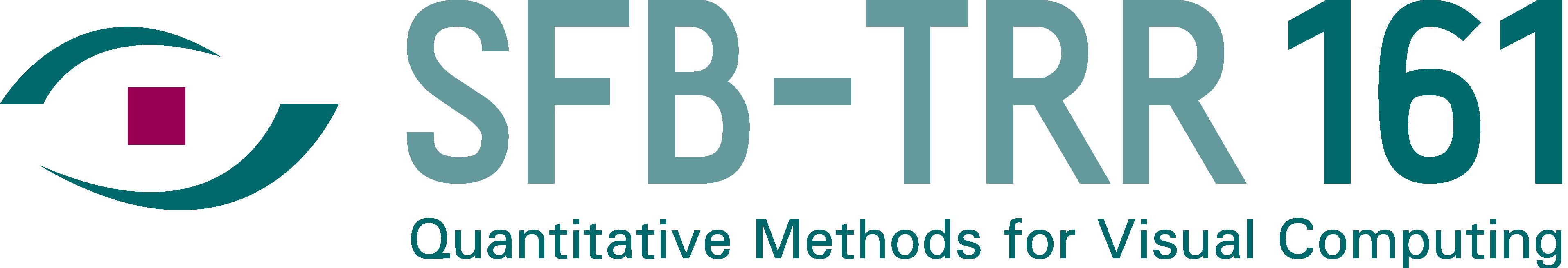 SFB-TRR 161: Collaborative Research Center --- Quantitative Methods for Visual Computing